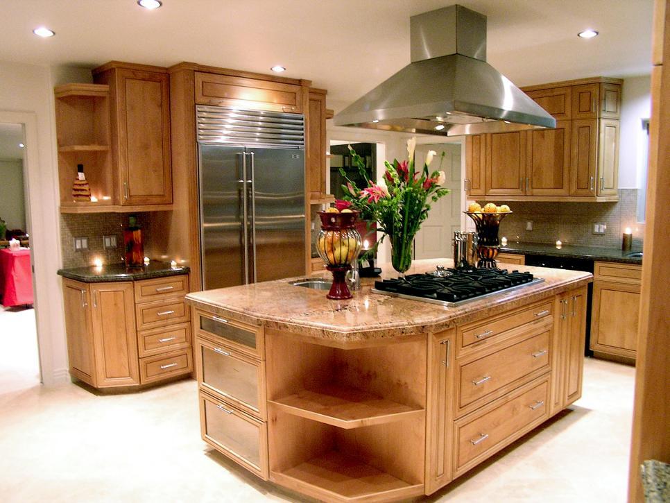آشپزخانه جزیره ای | بازسازی آشپزخانه