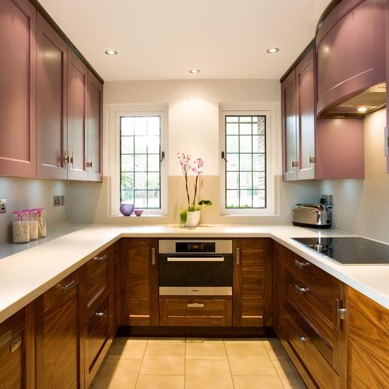 آشپزخانه U شکل | بازسازی آشپزخانه