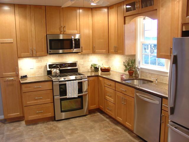 آشپزخانه L شکل | بازسازی آشپزخانه