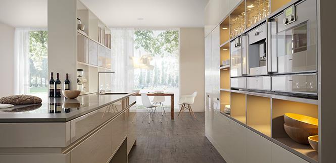 آشپزخانه خطی | بازسازی آشپزخانه